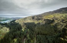 Scenic view of Gougane Barra National Forest Park, County Cork, Ireland — Stock Photo
