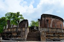 Vue panoramique de Polonnaruwa Vatadage, Sri Lanka — Photo de stock