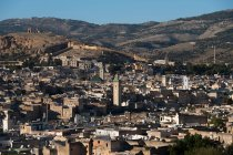 Scenic view of City skyline, Fez, Fez-Meknes, Morocco — Stock Photo