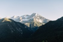 Живописный вид на Американский Форк Каньон, Юта, Америка, США — стоковое фото