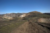 Scenic view of Landmannalaugar, Fjallabak Nature reserve, Iceland — Stock Photo