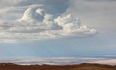 Облака над пустыней Атакама — стоковое фото