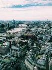 Luftaufnahme der Stadt, London, England, Großbritannien — Stockfoto