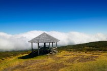 Aussichtsplattform am Cirque de Mafate, Insel La Réunion, Frankreich — Stockfoto