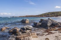 Scenic view of Rural beach landscape,  Dunsborough, Western Australia, Australia — Stock Photo