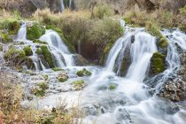 Мальовничий вид на водоспад, Південна Дакота, Америка, США — стокове фото