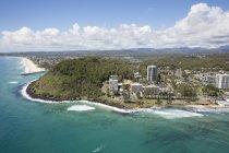 Veduta aerea della Surfing Reserve, Queensland, Australia — Foto stock