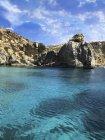 Vista panoramica sulla Laguna Blu, Malta — Foto stock