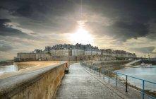 Scenic view of cityscape Saint-Malo, France — Stock Photo