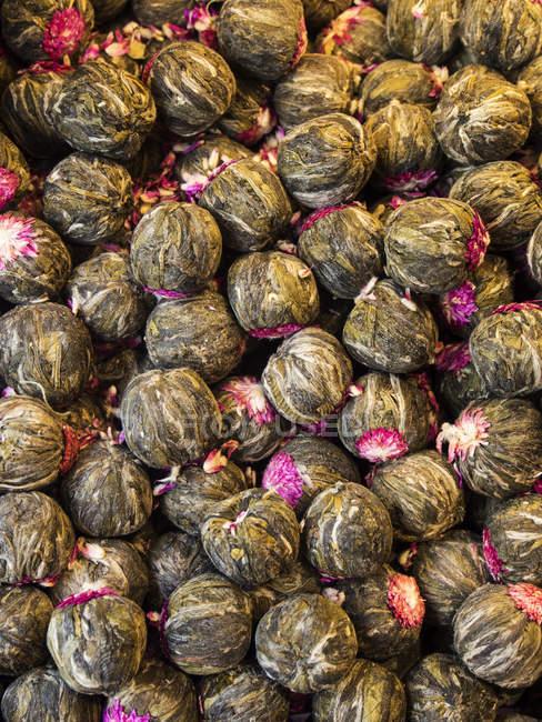Fond de thé au jasmin — Photo de stock