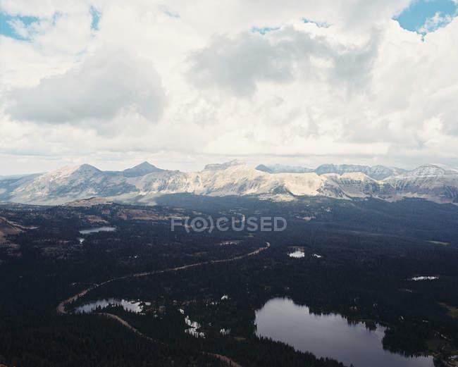 Uinta National Forest und Mirror Lake — Stockfoto