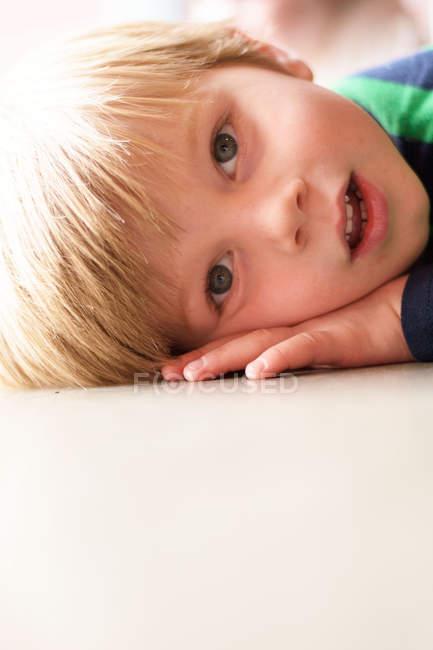 Beautiful young boy — Stock Photo