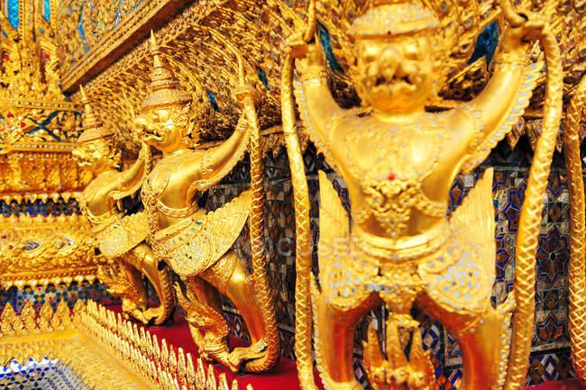 Golden Garuda of Thailand grand palace — Stock Photo