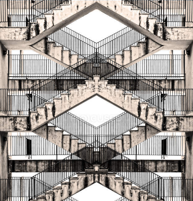 Stairs of building texture — Stock Photo