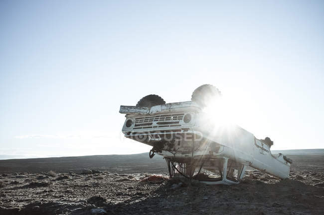 View of abandoned truck — Stock Photo