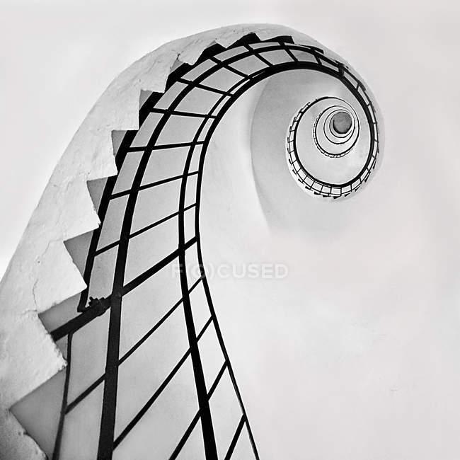 Сходи кручені в маяк — стокове фото