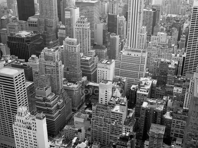 Vue aérienne de New York — Photo de stock