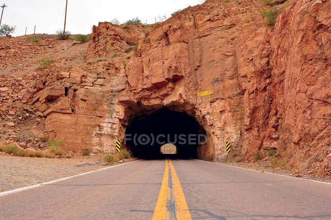 Tunnel to Morenci, Arizona — Stock Photo