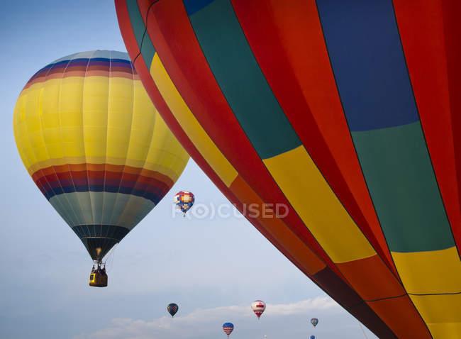 Гаряче повітря куля фестиваль — стокове фото