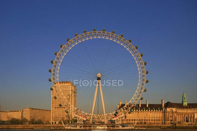 Angleterre, Londres, London Eye — Photo de stock