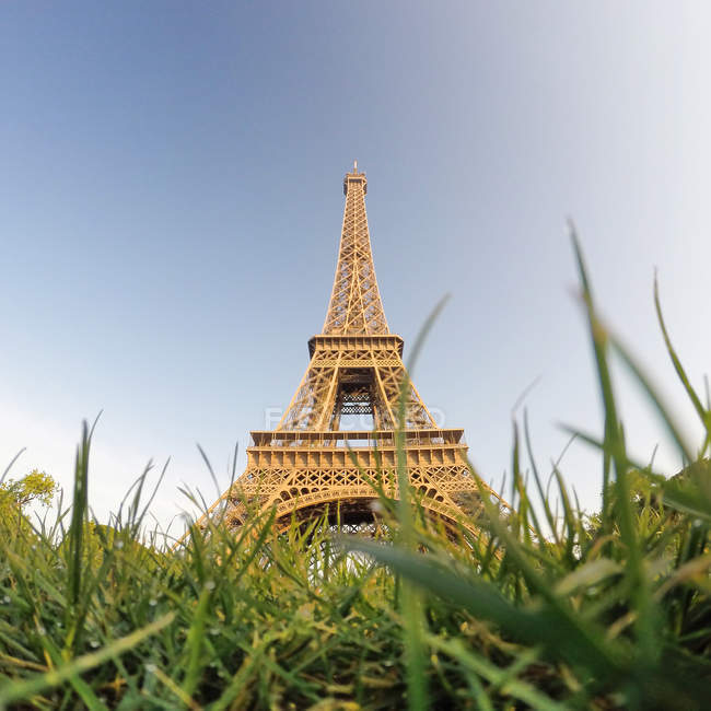 View of Eiffel Tower — Stock Photo