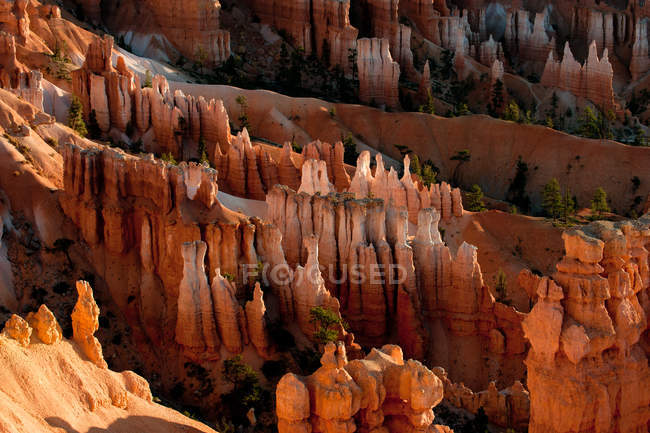 View of rock formations in Bryce Canyon — Photo de stock