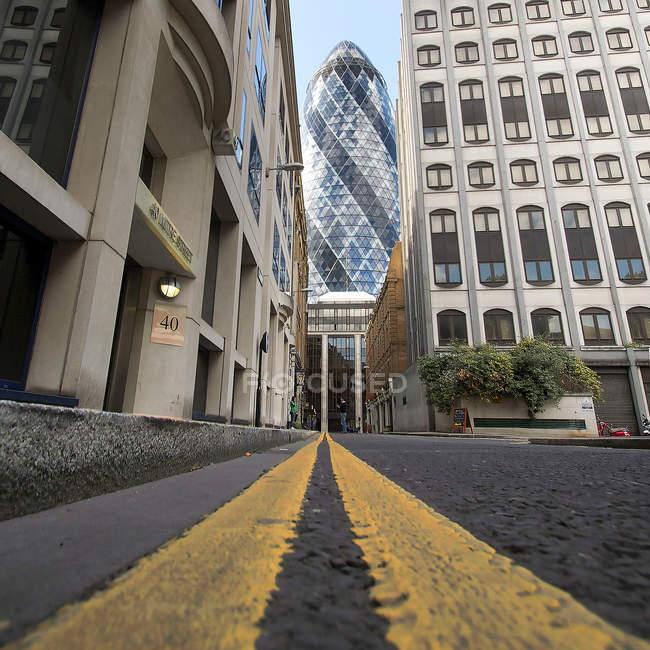 England, London, Gherkin — Stock Photo