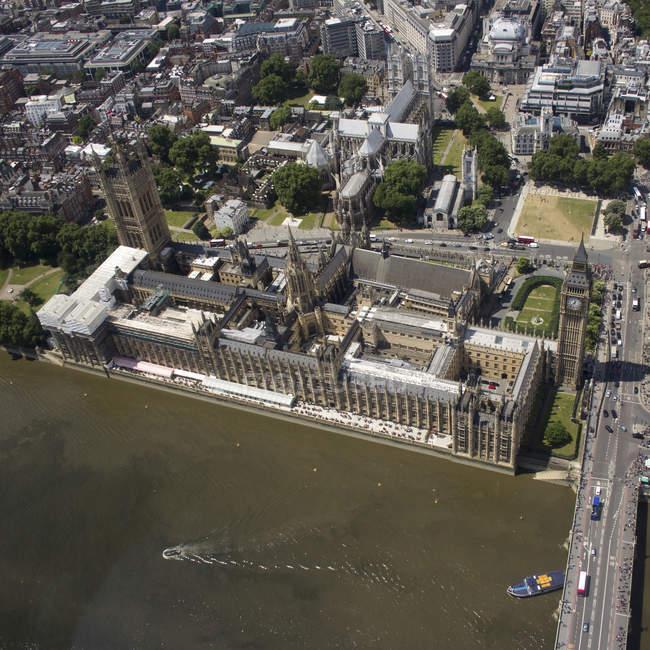 Westminster et big ben — Photo de stock