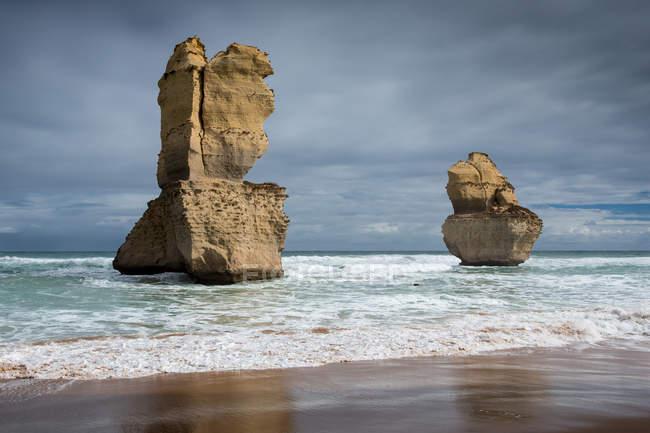Twelve apostles rock formation — Stock Photo