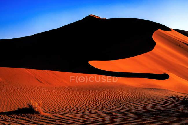 Песчаные дюны Sossuslvlei — стоковое фото