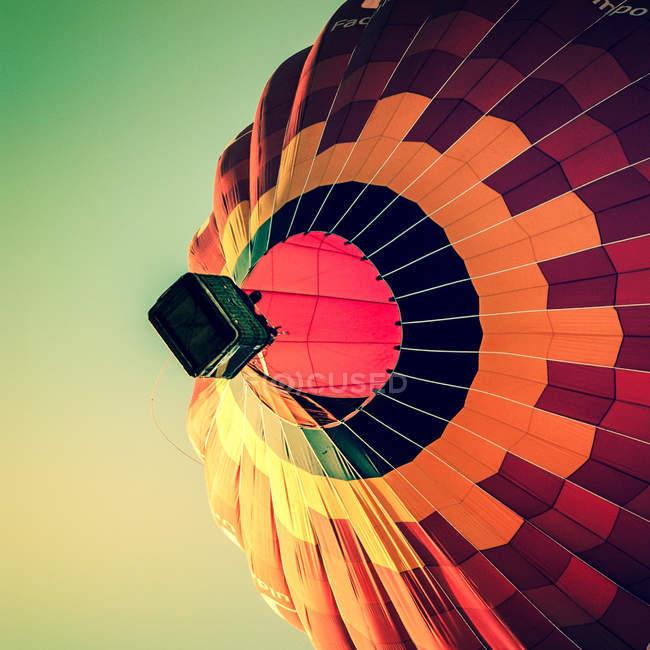 Повітряній кулі в повітря — стокове фото