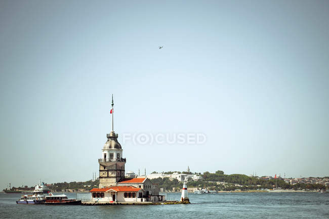 Istanbul, Maiden's tower — Stock Photo