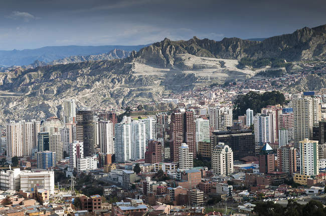 Bolivia, La paz, capital city — Stock Photo