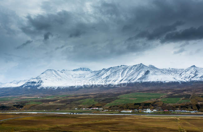 Vue panoramique sur Eyjafjordur — Photo de stock
