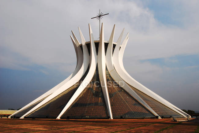 Brasil, a Catedral de Brasília — Fotografia de Stock