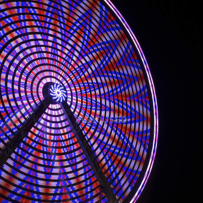 Grande roue en mouvement — Photo de stock