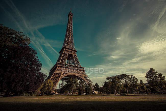 Эйфелева башня, Париж, Франция. — стоковое фото