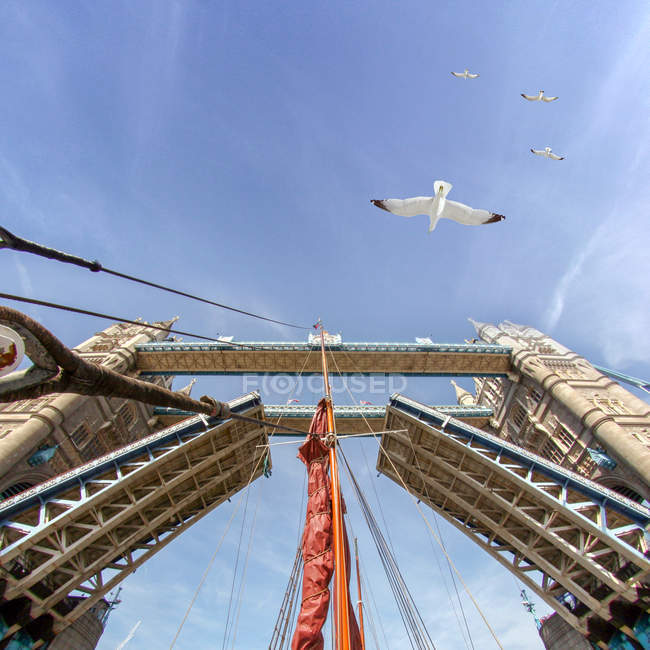 Pont à tour surélevée, Londres, Angleterre — Photo de stock