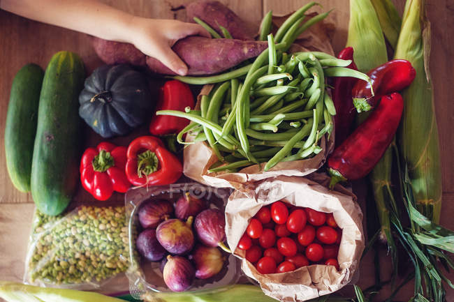Close-up fresh vegetables — Stock Photo