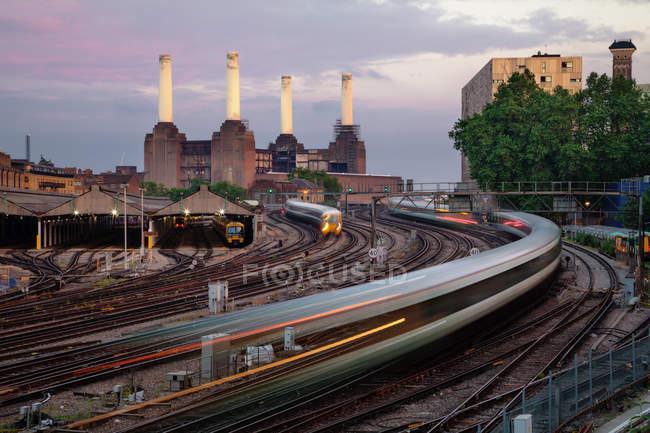 Battersea power Station — Photo de stock