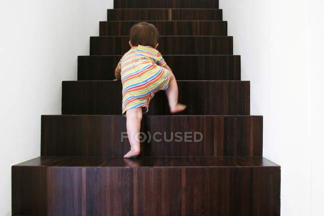 Baby Holz Treppen — Stockfoto