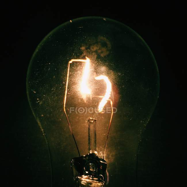Close-up of light bulb — Stock Photo