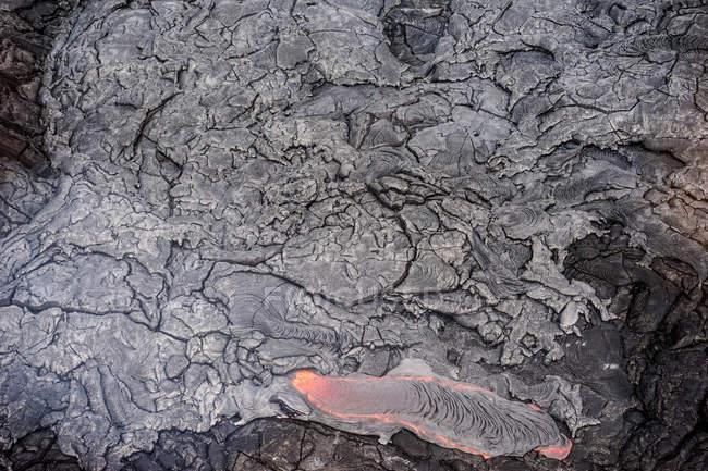 США, Гавайи, лавовый поток — стоковое фото