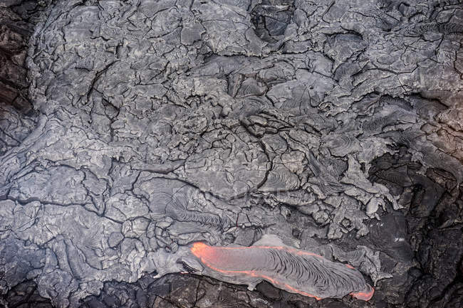 USA, Hawaii, Lava flow — Stock Photo
