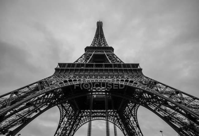 Эйфелева башня, Париж, Франция — стоковое фото