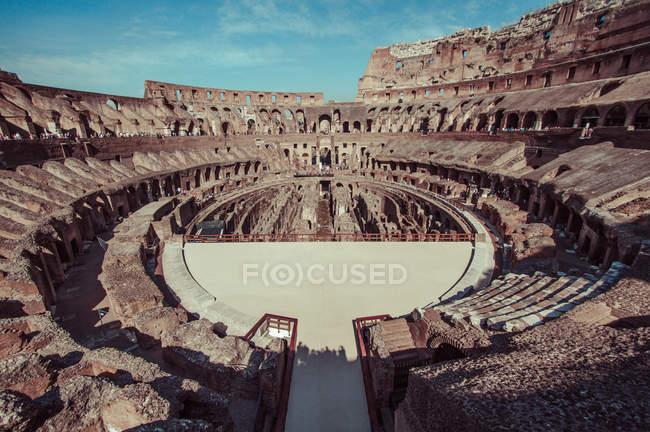 Rovine interne del Colosseo — Foto stock