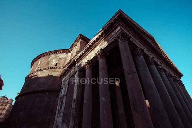 Італії, Рим, Пантеон при сходом сонця — стокове фото