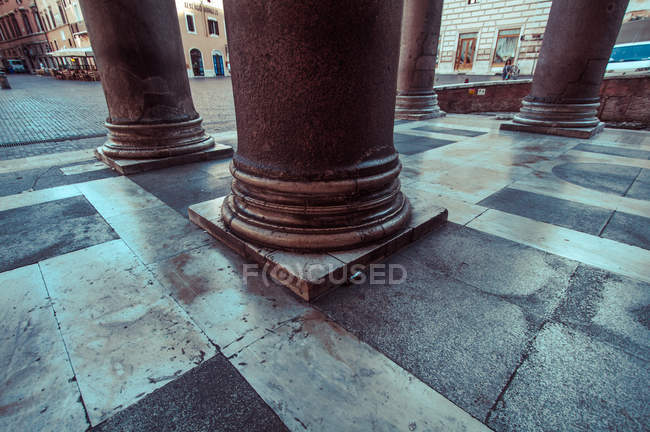 Italia, Roma, colonne del Pantheon — Foto stock