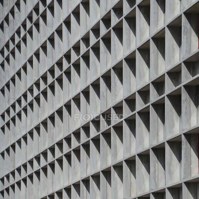 Facade of concrete building — Stock Photo