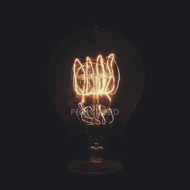 Incandescent light bulb — Stock Photo